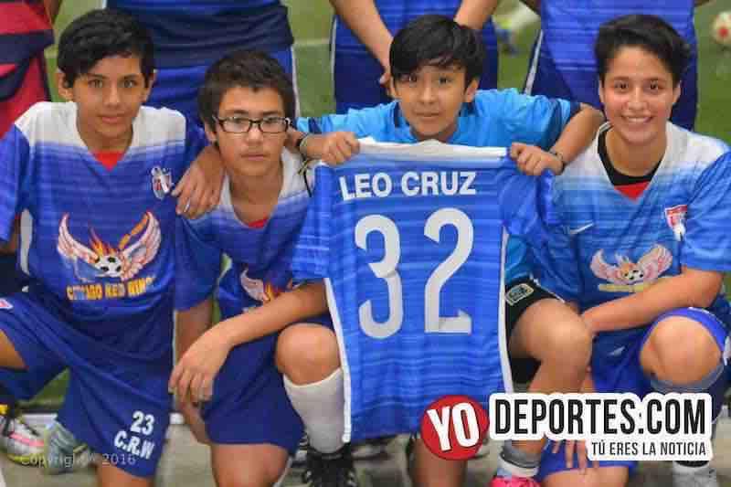 Chicago Red Wings Soccer League homenaje a Leo Cruz domingo 7 de febrero.