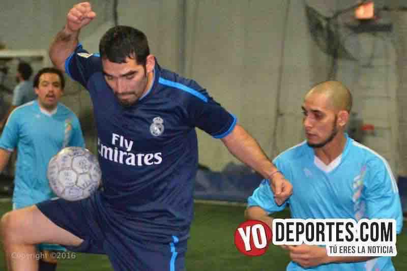 Salamanca contra La Mangana en Fuerza Latina Soccer League