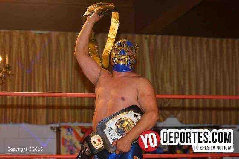 Rey Makawi arrebata cinto a Caballero Tigre y es doble campeón