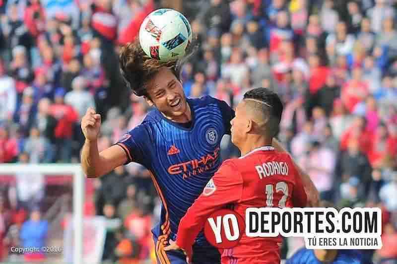 """Chicago Fire pierde """"bonito juego"""" ante New York City FC"""