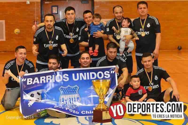 Barrios Unidos doble campeón en Club deportivo Checa