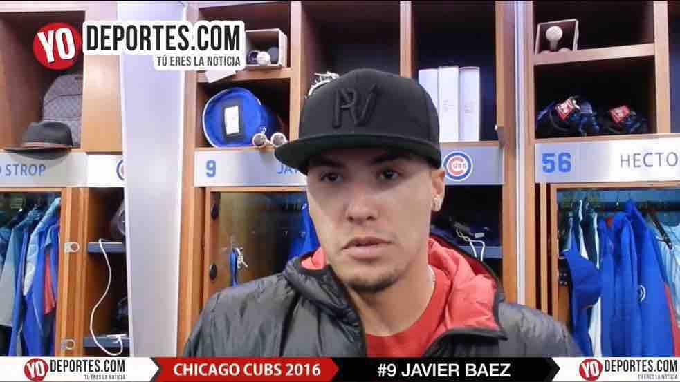 Javier Baez sabe que es el año de los Cubs