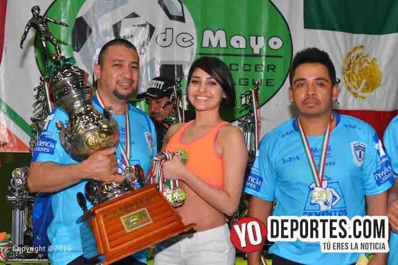 Jueves de campeones en 5 de mayo Soccer League
