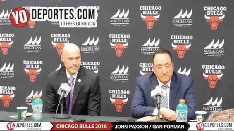 Muy decepcionados los directivos Chicago Bulls