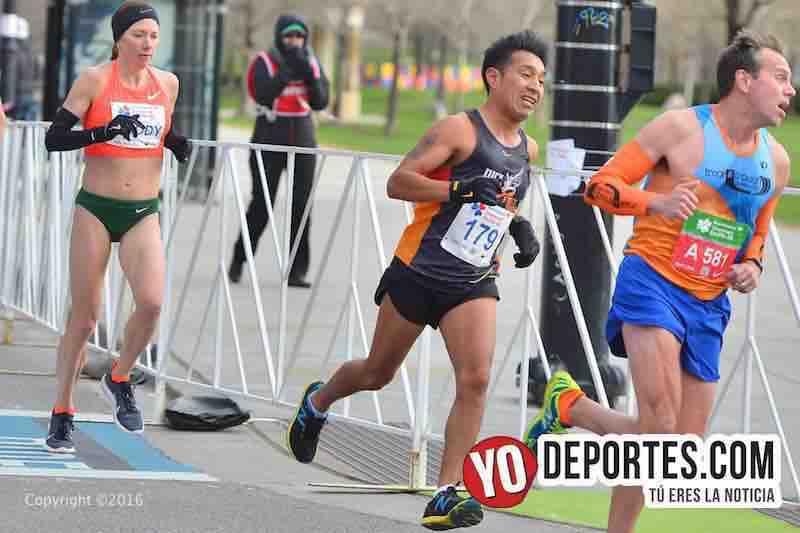Atletas latinos destacan en Shamrock Shuffle 8K
