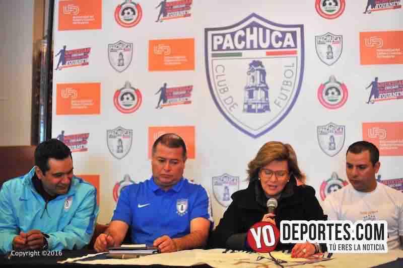 Tuzos Pachuca anuncia Torneo en Waukegan