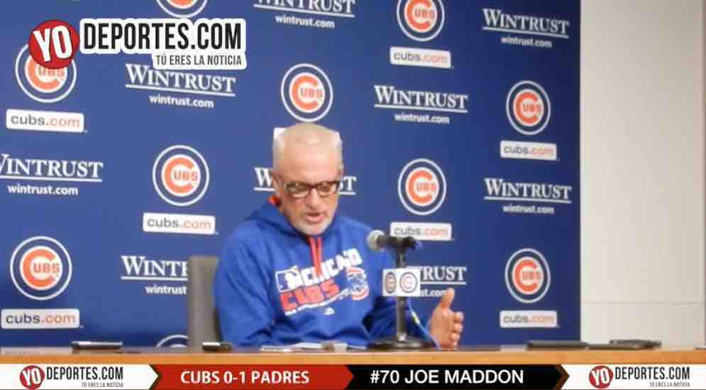 Los Cubs tambien saben perder