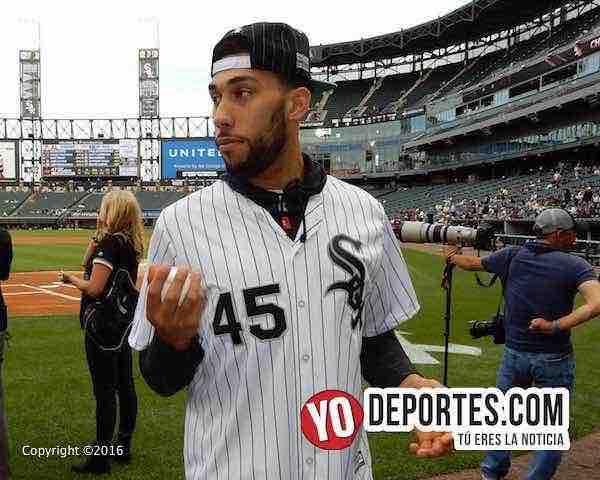 Denzel Valentine lanza para los White Sox