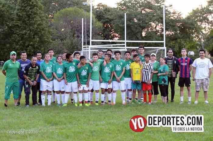 Niños de León USA Soccer Club entrenaron como profesionales