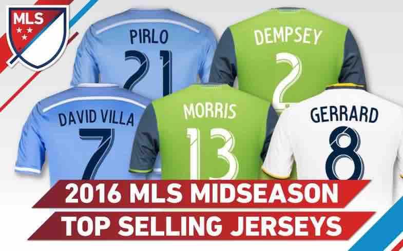 Giovani dos Santos no vende muchas camisetas en la MLS