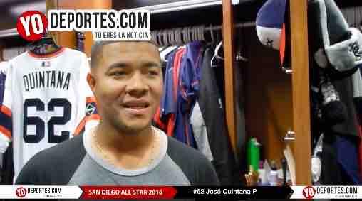 José Quintana al Juego de Estrellas en San Diego