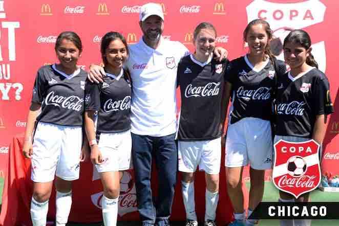 Luis Garcia en Chicago con Alianza de Futbol
