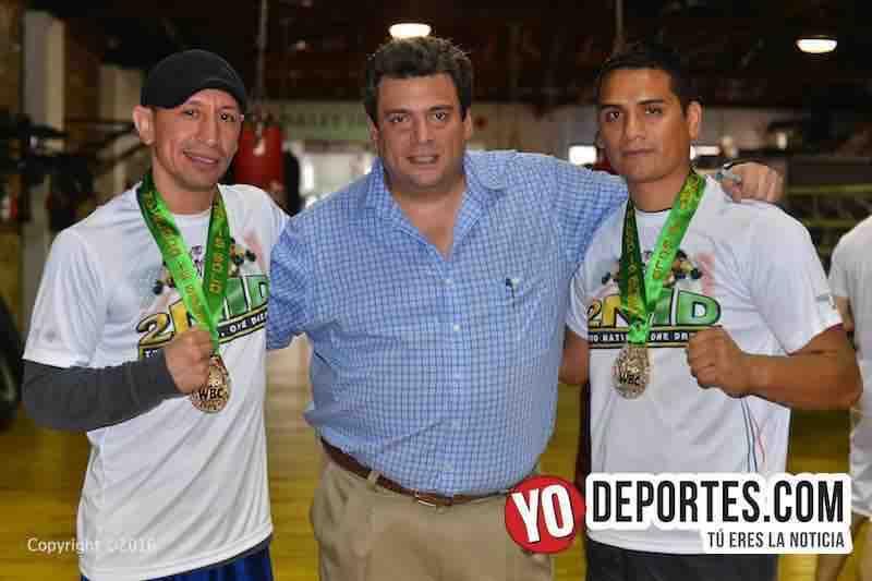 Fermin Ayala y Lalo Beas ganadores de la Medalla del CMB