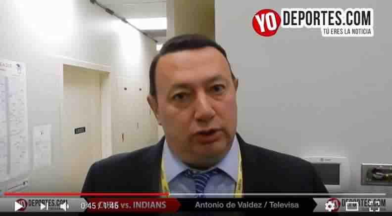 Antonio de Valdez ve difícil que Cachorros despierten y ganen la Serie Mundial