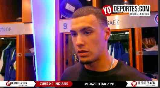 Teníamos ansias de anotar una carrera: Javier Baez