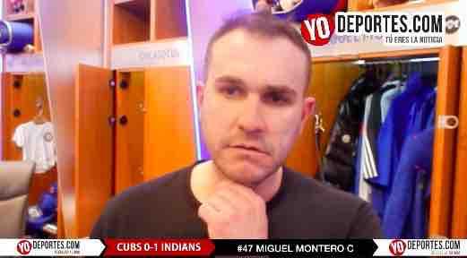 Venezolano Miguel Montero sabe que los Cachorros no se rinden