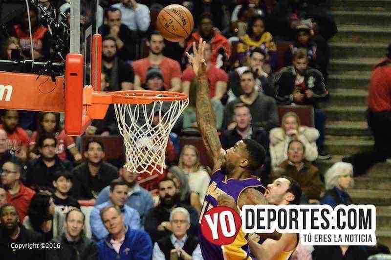 Los Lakers arrebatan triunfo a los Bulls en su casa