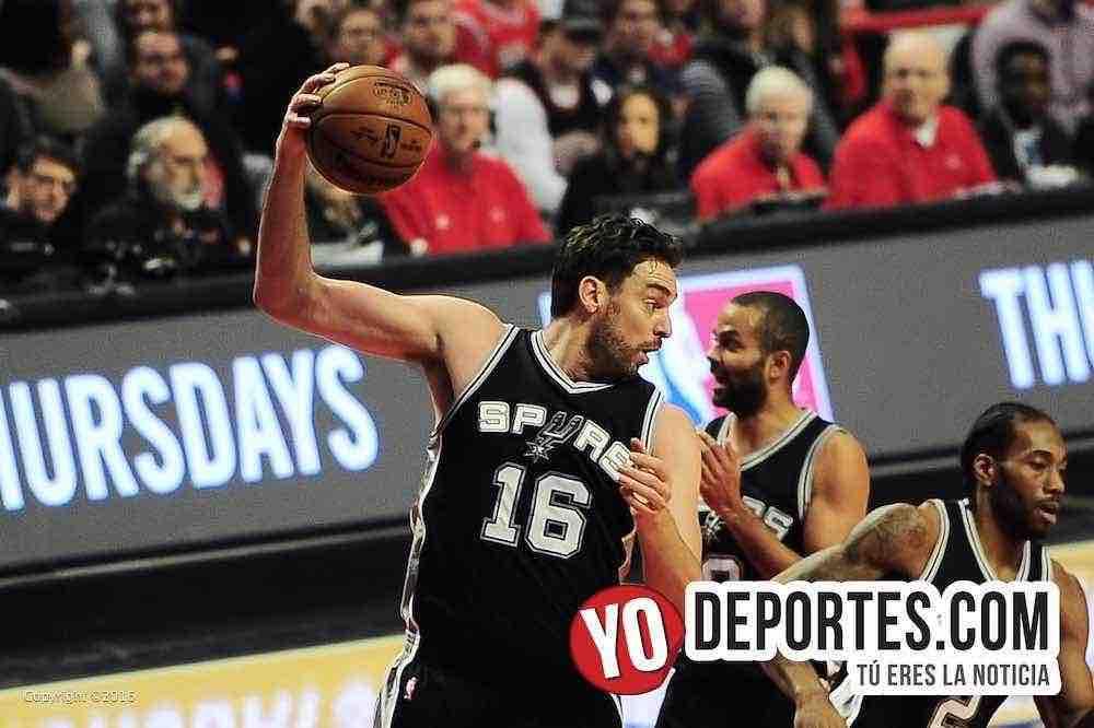 Los Bulls de Chicago quitan invicto a los Spurs de Pau Gasol