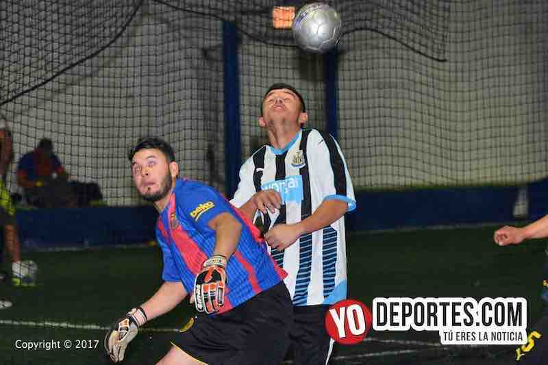 Deportivo La Remi FC golea al Evolution en Internacional Fuerza Latina