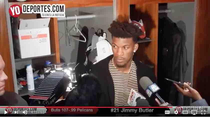 Jimmy Butler regresa y los Bulls de Chicago vuelven a ganar