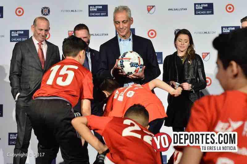 MLS Juego de estrellas chicago-Rahm Emanuel