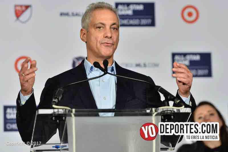 Rahm Emanuel-MLS Juego de estrellas chicago