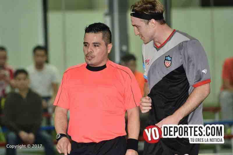 Arbitro Antonio Lopez-Chicago Mustangs-Victory FC