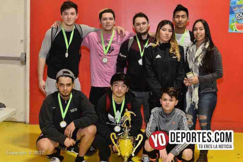 Chicanos segundo lugar en la Liga de Guatemala en Melrose Park