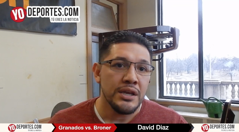 David Diaz apuesta todo por Adrian Granados El Tigre de Cicero