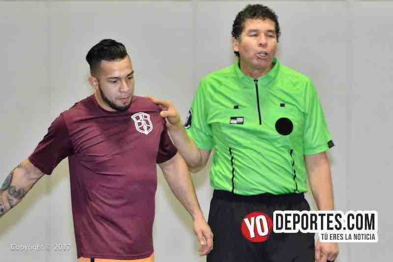 Deportivo DF-Back of the Yards-Mundi Soccer League semifinal