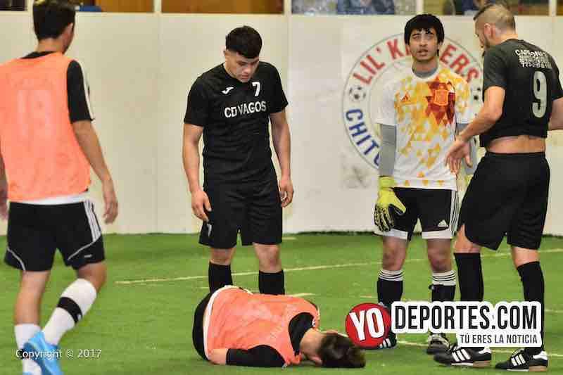 Deportivo DF-CD Vagos-Mundi Soccer League lesionado