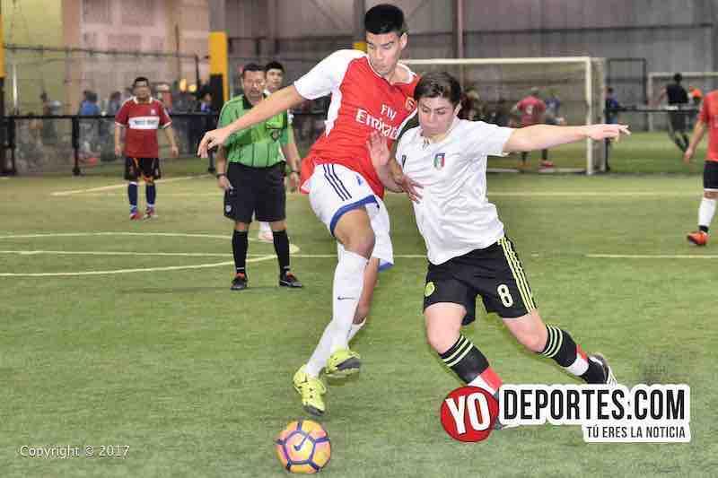 El Progreso contra Club Nacional en United States Soccer League.