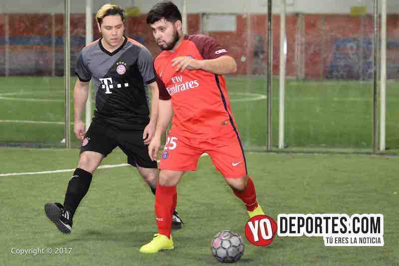 Final martes Xonacatla Jr contra Chicanos final de la Liga de Matehuala en Melrose Park