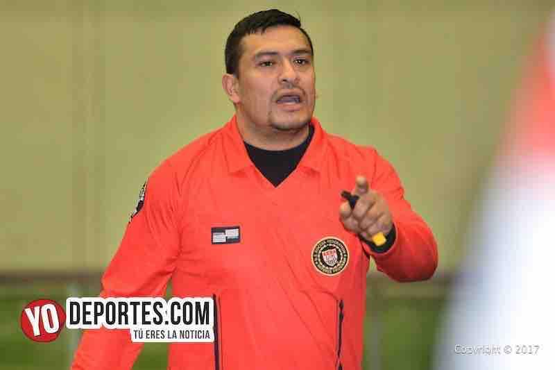 Los Rudos-Misantla-Liga san Francisco-Liga Douglas-Campeon de Campeones-arbitro