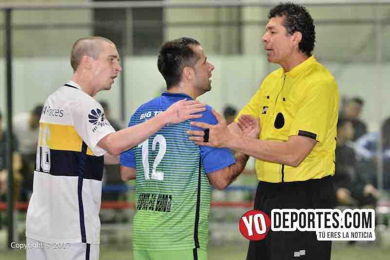 Ludovico y su Banda-Boca Jr-Liga Latinoamericana-arbitro Jorge Rodriguez