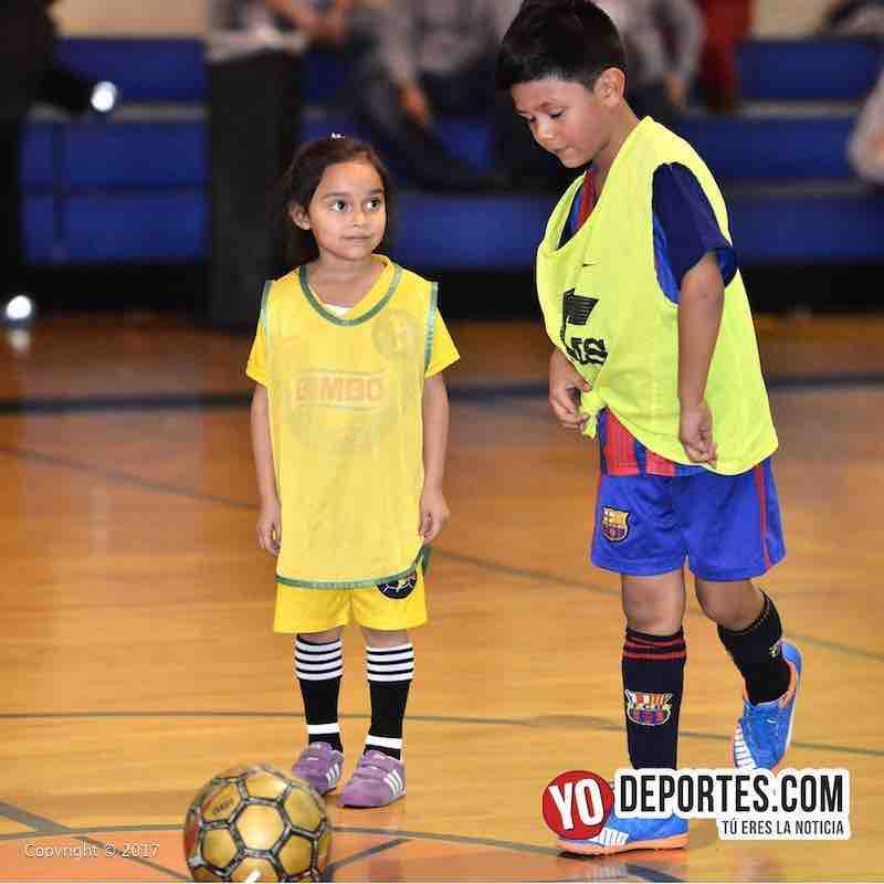 Scarlet Martinez-Liga Diablitos primer partido de futbol