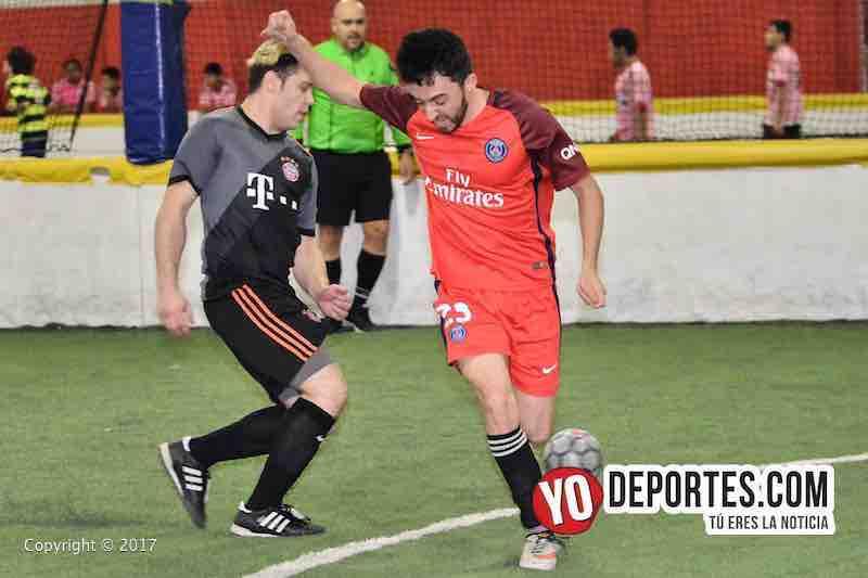 Xonacatla Jr contra Chicanos Liga de Matehuala en Melrose Park