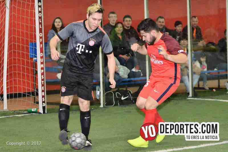 Xonacatla Jr. contra Chicanos final de la Liga de Matehuala en Melrose Park