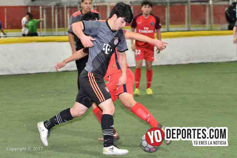 Xonacatla Jr. vs Chicanos final de la Liga de Matehuala en Melrose Park
