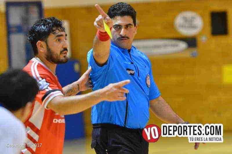 Arbitro otto Mejia-Barcelona-Las Aguilas-Liga Club Deportivo Checa-finales sabado