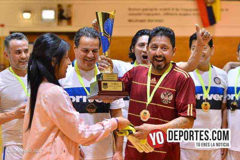 Barcelona campeon de veteranos en Liga Checa