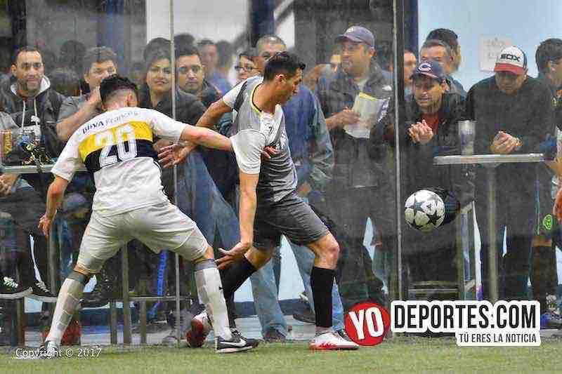 Cuartos de final La Barona-Boca Jr-Champions-Liga latinoamericana