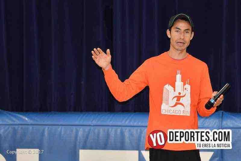 Diego Estrada no se considera favorito para ganar el Shamrock Shuffle en Chicago.