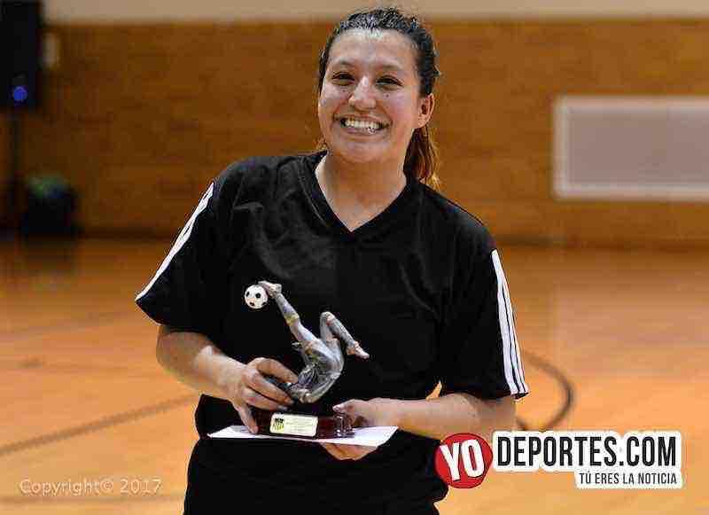 Goleadora-Milan-Lady Azteca- Club Deportivo Checa