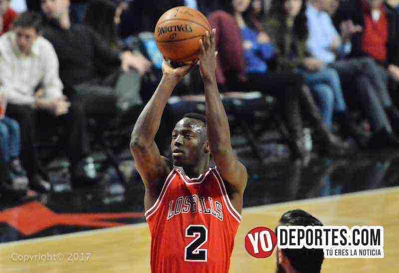 Jerian Grant Los Bulls-Pistons Noche Latina NBA