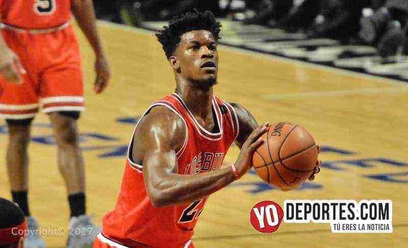Jimmy Butler-Los Bulls-Pistons Noche Latina NBA
