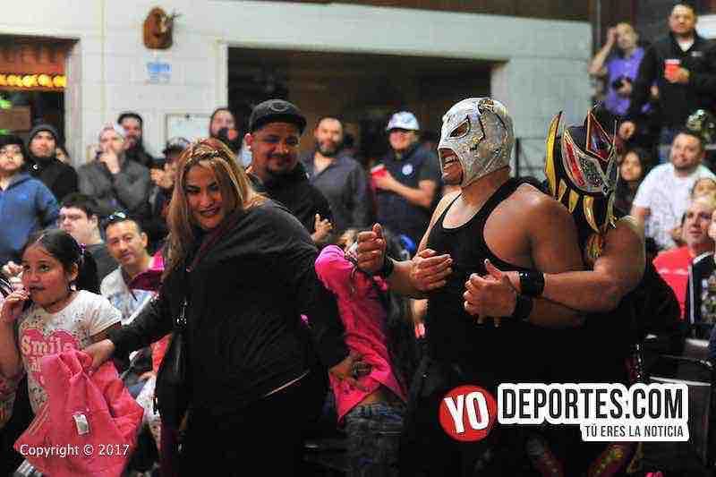 LLeno total Eagles Club Berwyn-Lucha libre total