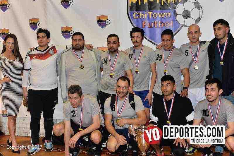 La Bamba subcampeón en Chitown Futbol veteranos torneo de los jueves