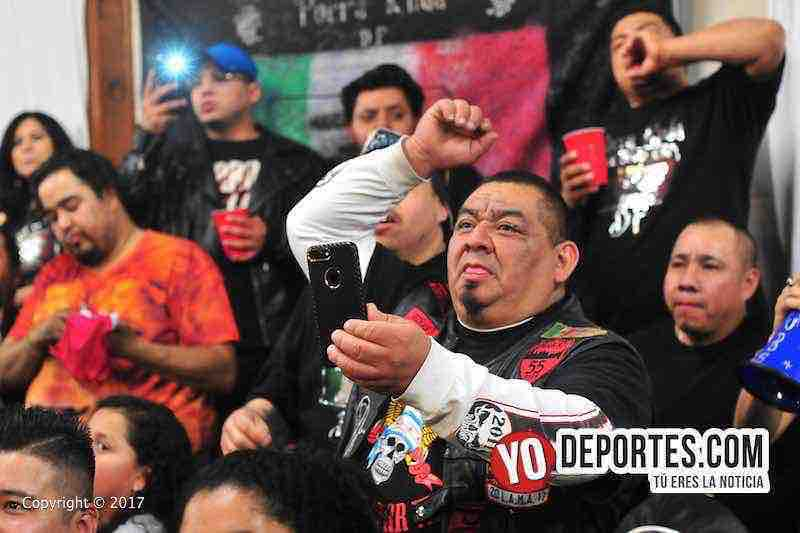 La Porra Ruda dijo presente con Lucha Libre Total en Eagles Club