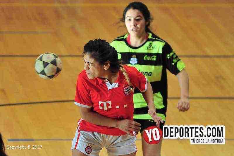 Lady Azteca contra Real Madrid en semifinal de Club Deportivo Checa